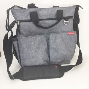Skip Hop Duo Messenger Bag Diaper Bag